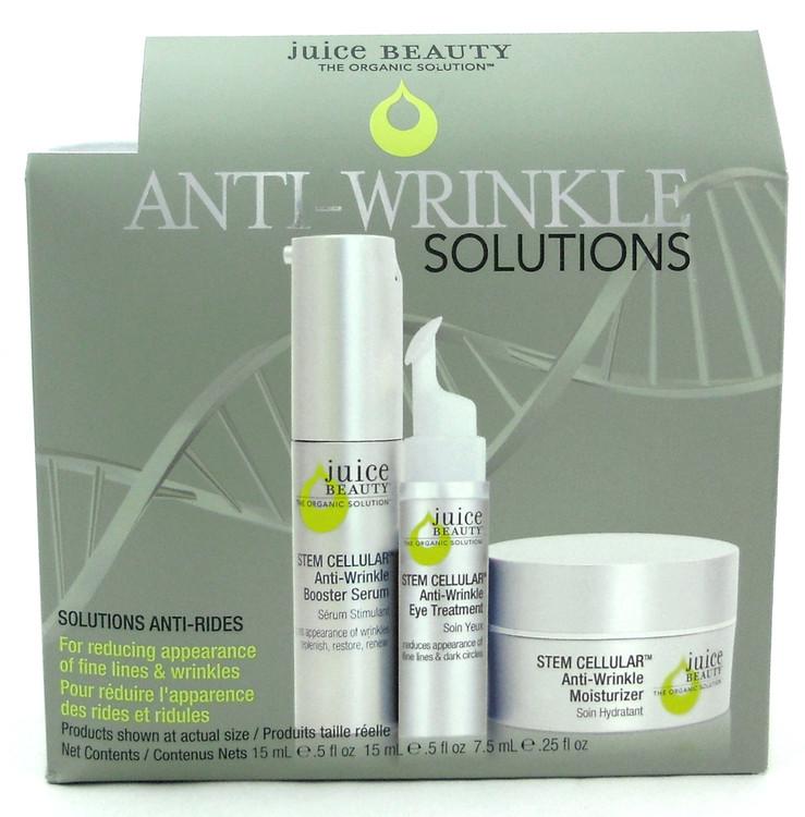 Juice Beauty Stem Cellular Anti Wrinkle Solutions 3 pcs Kit New In Box
