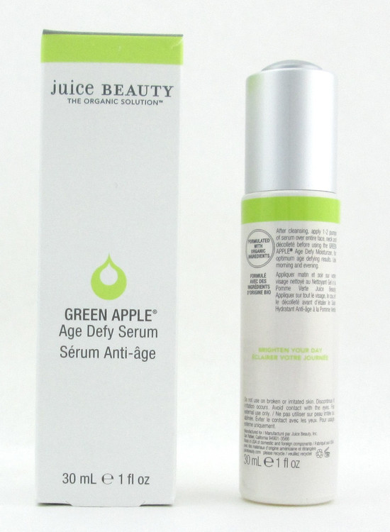 Juice Beauty Green Apple Age Defy Serum 1 oz./ 30 ml. New In Box