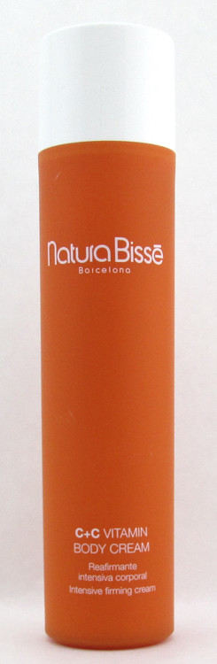 Natura Bisse C+C Vitamin Body Cream Intensive Firming Cream 8.8 oz Unboxed/Tester