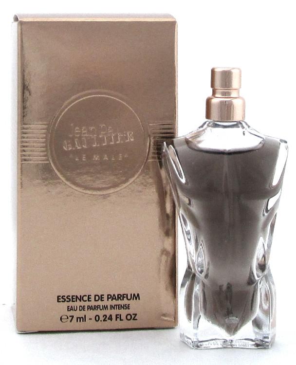 Jean Paul Gaultier Le Male 7 ml. MINI Essence de Parfum Splash for Men.