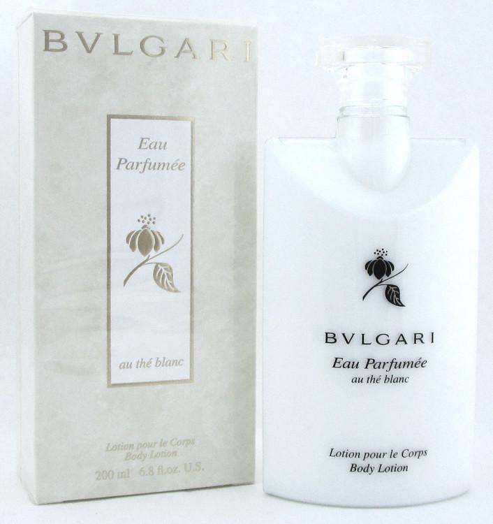 Bvlgari Eau Parfumee Au The Blanc Body Lotion 200 ml./ 6.8 oz.NIB