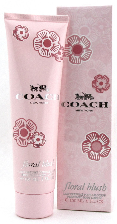 Coach New York Floral Blush Perfumed Body Lotion 5.0 oz./ 150 ml. for Women.