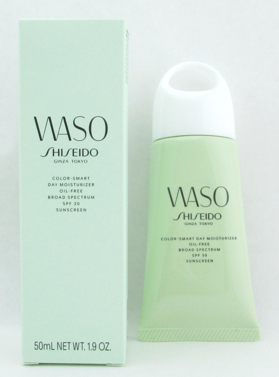 Shiseido Waso Color-Smart Day Moisturizer Oil-Free Broad Spectrum SPF 30 Sunscreen 50 ml./ 1.9 oz.