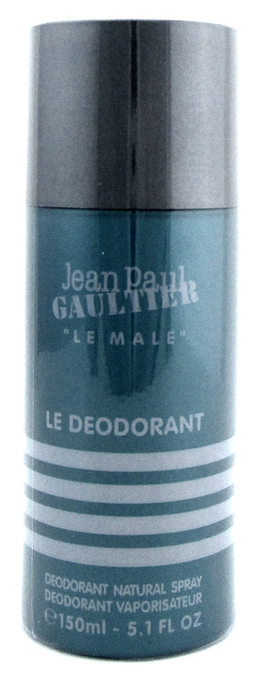 Jean Paul Gaultier Le Male Deodorant Spray 5.1 oz./ 150 ml. for Men. New. Sealed