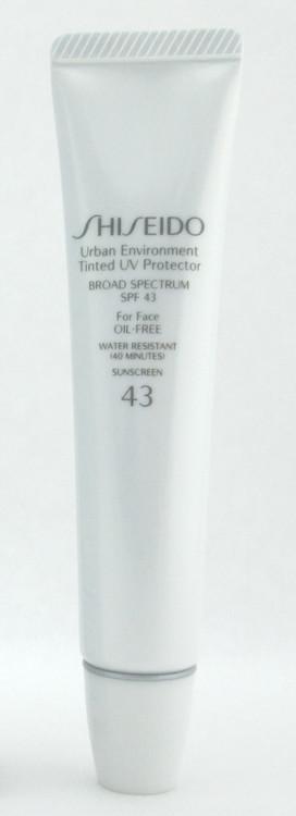 Shiseido Urban Environment Tinted UV Protector 43 Broad Spectrum SPF43 For Face Oil Free # 1 30 ml./1.1 oz. NIB