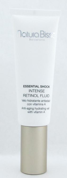 Natura Bisse Essential Shock Intense Retinol Fluid Anti Aging Hydrating Veil with Vitamin A 1.7 oz./ 50 ml. Tester