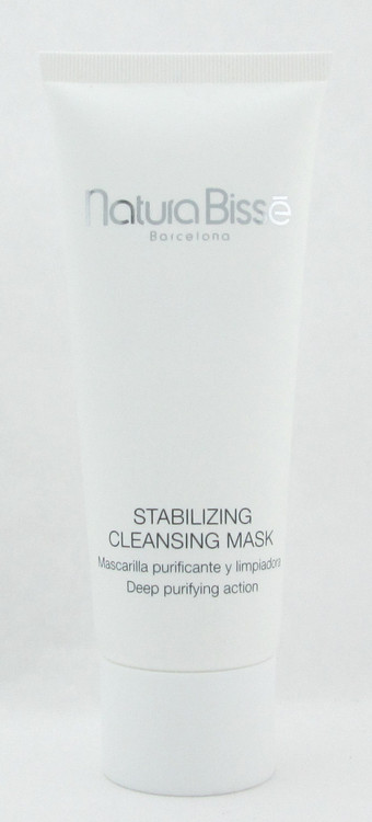 Natura Bisse Stabilizing Cleansing Mask 75 ml./ 2.5 oz. New Unbox/Tester