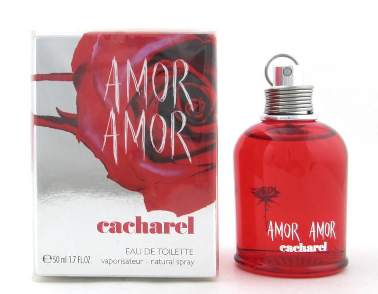AMOR AMOR by Cacharel 1.7 oz. Eau de Toilette Spray New Slightly Damaged Box