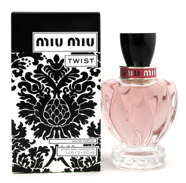 Miu Miu TWIST by Miu Miu 3.4 oz. Eau de Parfum Spray for Women. NEW Tester w/Cap