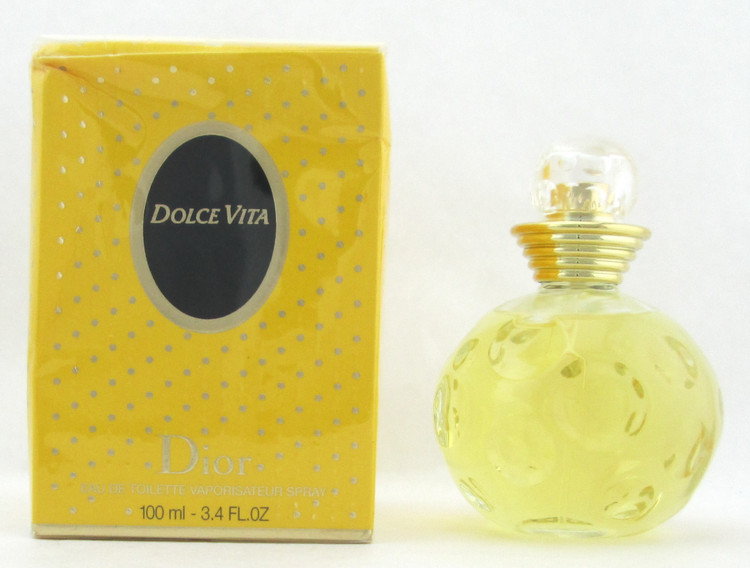 Dolce Vita Perfume by Dior 3.4 oz./ 100 ml. EDT Spray for Women Damaged Box