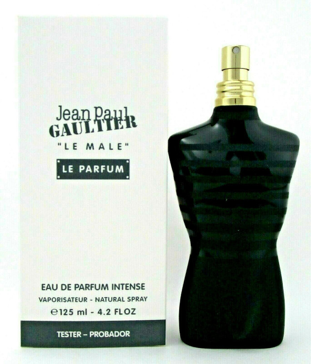 Jean Paul Gaultier Le Male LE PARFUM 4.2oz. Eau de Parfum INTENSE Spray Tester