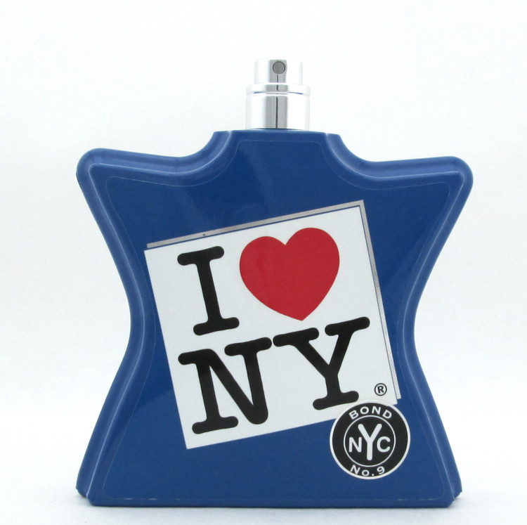 Bond No. 9 I Love New York Eau De Parfum Spray Tester for Men 3.3 oz./ 100 ml. LOWFILL BOTTLE (bottle weighs 12 oz.)