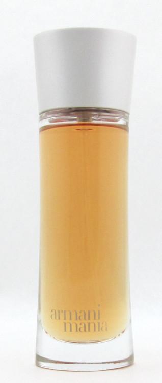 Armani Mania Eau De Parfum Spray Pour Femme 75 ml./ 2.5 oz. LOWFILL BOTTLE NO BOX