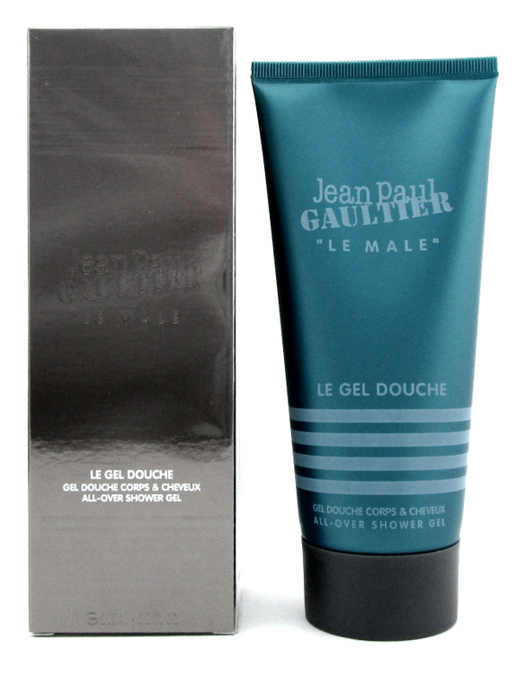 Jean Paul Gaultier Le Male All Over Shower Gel 6.8oz / 200ml for Men. New in box
