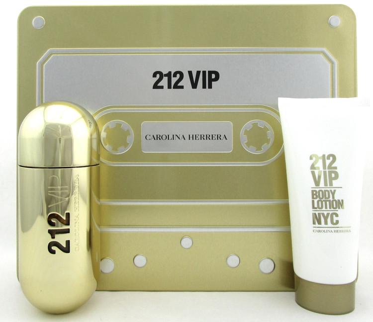 212 VIP by Carolina Herrera 2.7 oz. EDP Spray + 3.4 oz. Body Lotion. New SET