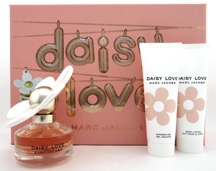 Daisy LOVE by Marc Jacobs 1.7oz.EDT Spray+2.5oz.B/L+2.5oz.Sh/Gel. Set for Women