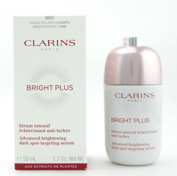 Clarins Bright Plus Advanced Brightening Dark Spot Targeting Serum 50 ml./ 1.7 oz.