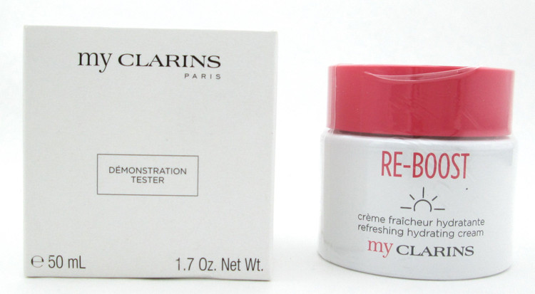 Clarins My Clarins RE-BOOST Refreshing Hydrating Cream 50 ml./1.7 oz. New Tester