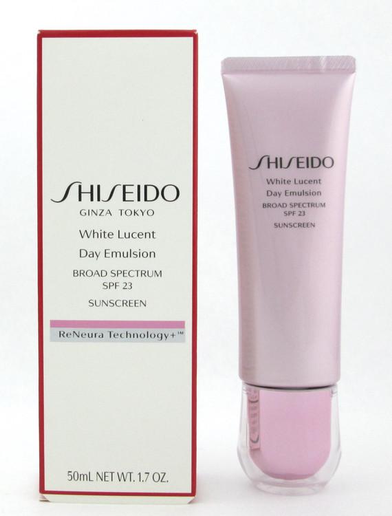 Shiseido White Lucent Day Emulsion SPF23 50 ml./ 1.7 oz. New