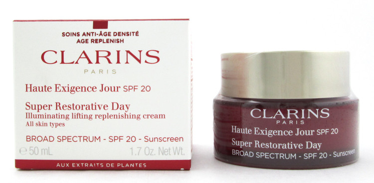 Clarins Super Restorative Day Cream SPF 20 All Skin Types 50 ml./ 1.7 oz. New