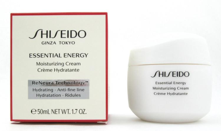 Shiseido Essential Energy Moisturizing Cream 50 ml./ 1.7 oz. New in Box