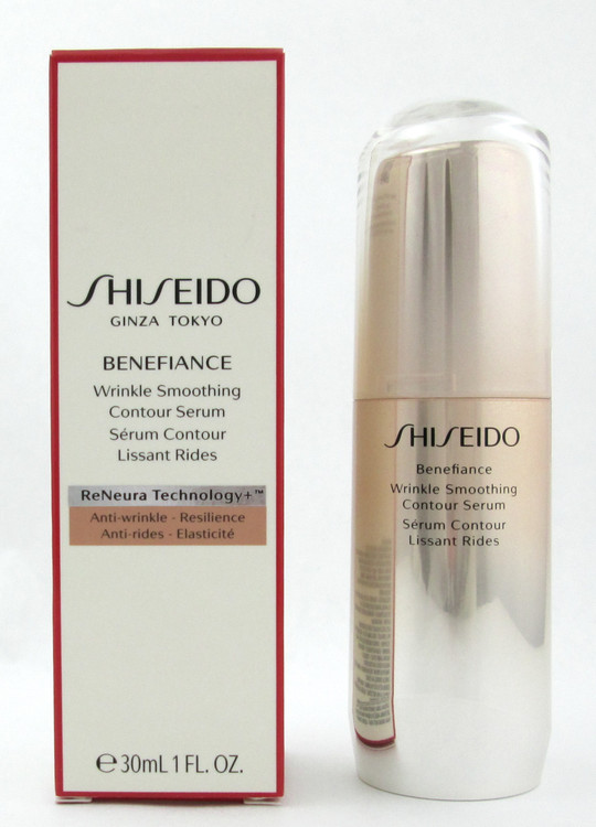 Shiseido Benefiance Wrinkle Smoothing Contour Serum 30 ml./ 1.0 oz. New in Box