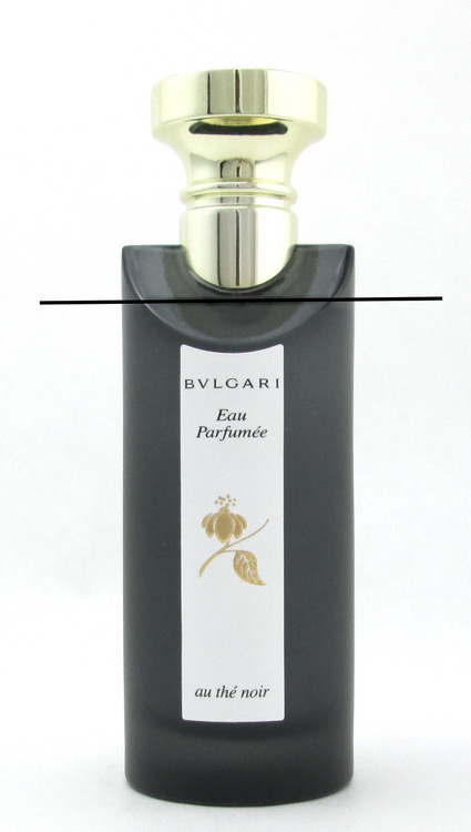 Bvlgari Eau Parfumee Au The Noir Eau de Cologne Spray 75 ml./ 2.5 oz. LOWFILL Bottle NO BOX