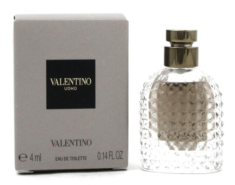 Valentino Uomo Cologne 4 ml. MINI Eau de Toilette Splash for Men. New in Box