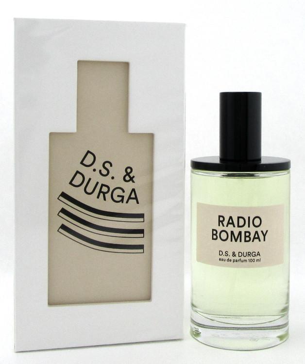 D.S. & Durga Radio Bombay 3.4 oz./ 100 ml. EDP Spray for Unisex. New Sealed Box