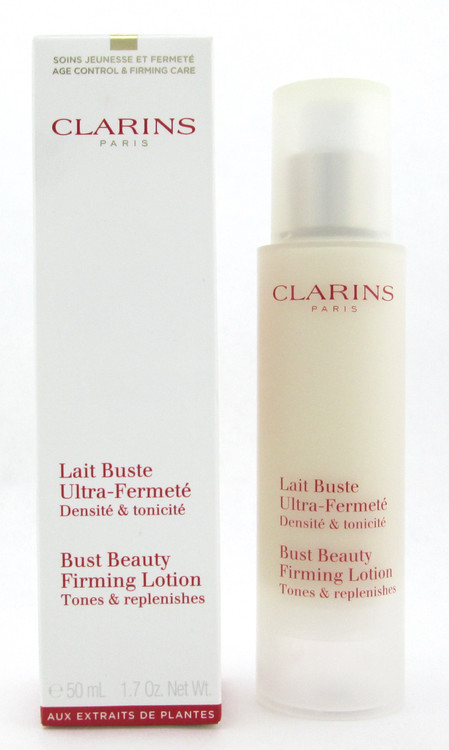 Clarins Bust Beauty Firming Lotion Tones & Replenishes 50 ml./ 1.7 oz. New Box