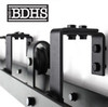 Low Profile U-Shaped Double Track Bypass Brackets