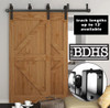 Double Track Bypass  - 2 Track Sliding Barn Door Hardware Kit   ****DOORS NOT INCLUDED
