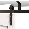 Ceiling Mount Sliding Barn Door Hardware Kit