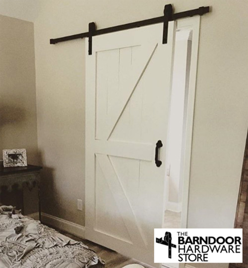 British Brace Pine Wood Barn Door From The Barn Door Hardware Store