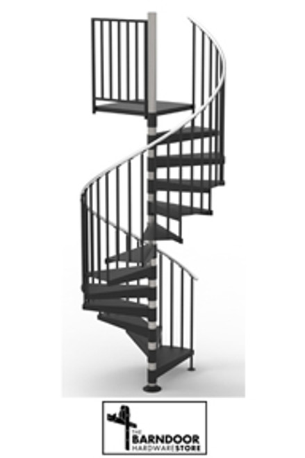 "60"" code complaint spiral stair kit"
