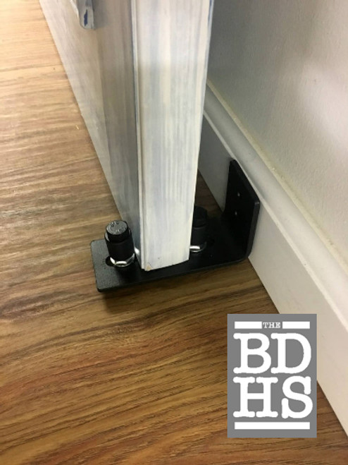 Wall Mounted Door Guide - installed