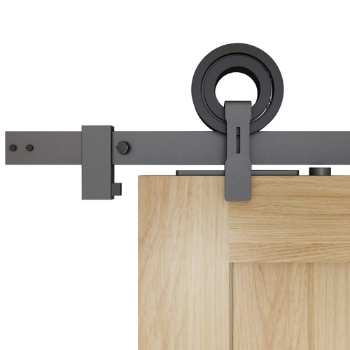 TOP MOUNT RING STYLE Sliding Barn Door Hardware Kit