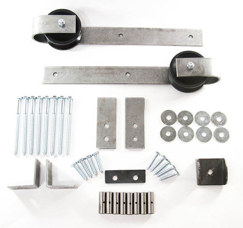 Sliding Barn Door Hardware - DELUXE KIT - SUPPLY YOUR OWN TRACK