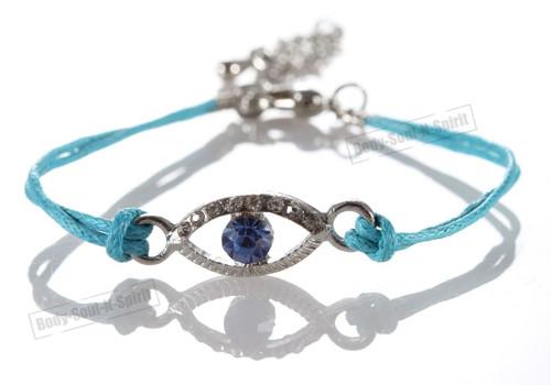 1 Sky Evil Eye woman Bracelets STRING Kabbalah Lucky Charm Protection Jewelry