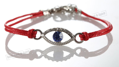 1 Red Evil Eye woman Bracelets STRING Kabbalah Lucky Charm Protection Jewelry