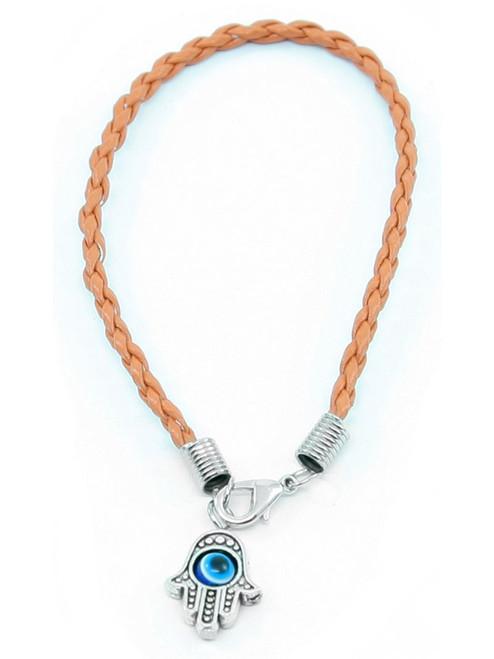 1 Hamsa Hand Orange String Evil Eye Lucky Spiritual Bracelets Success Protection