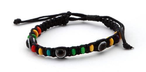 1 Evil Eye Black String Ethnic Bracelets Lucky Eye Charm Bead success Bracelet