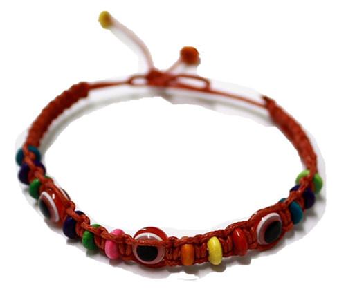 1 Evil Eye Red String Ethnic Bracelets Lucky Eye Charm Bead success Bracelet