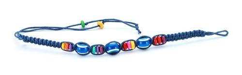 1 Evil Eye Blue String Ethnic Bracelets Lucky Eye Charm Bead success Bracelet