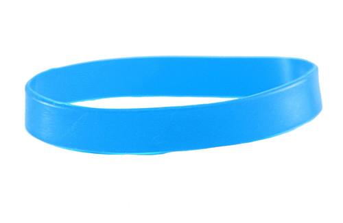 Sky blank Silicone Wristband powerful Rubber Bracelet good karma Bangle gift