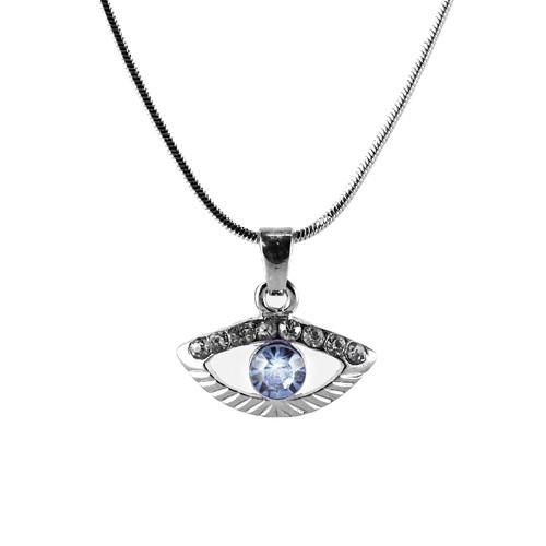 Sky Evil Eye Amulet Necklace good Charm success Protection Judaica Spiritual