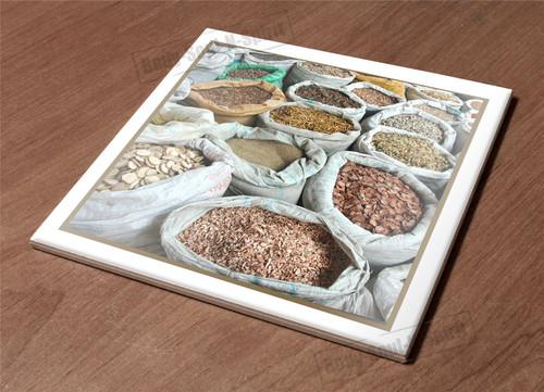 Ceramic Hot Plate kitchen Trivet Holder market food spice health organic natural