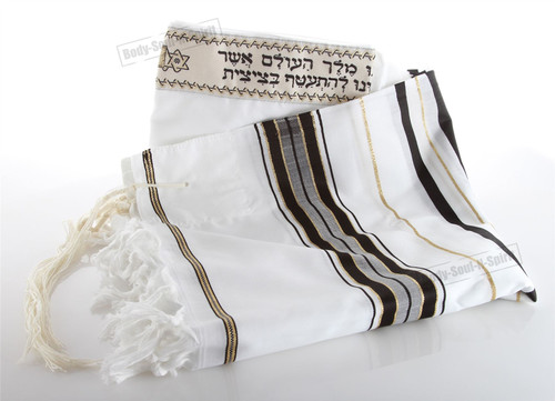 130/180cm Talit Prayer Talis FROM Israel Traditional Jewish Kosher Tallit Shawl
