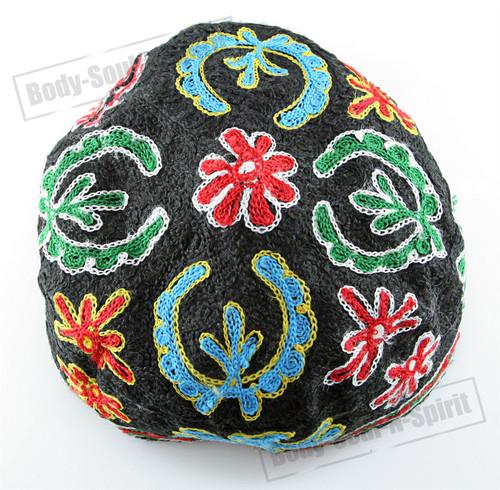 Floral Buchari Kippah Yarmulke Tribal Jewish Kippa Israel Hat Covering Cap