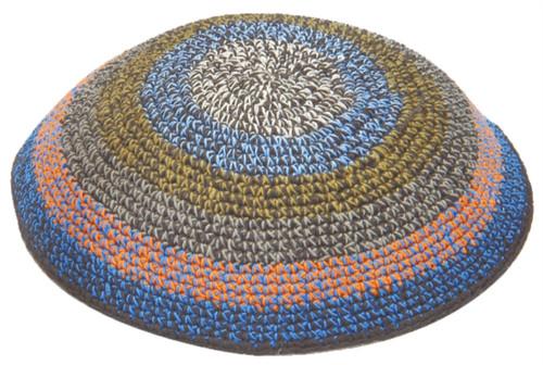 Holy Israel CapYarmulke Knitted Kippah Tribal Jewish Yamaka Kippa Hat Covering